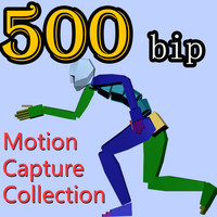 500 Motion Capture Collection BIP