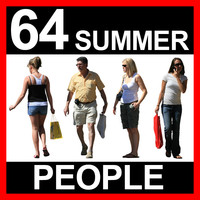 64 Summer People Textures