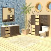 Bathroom.Aruba_Furniture.set