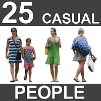 25 Casual People Textures - V4
