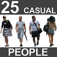 25 Casual People Textures - V5