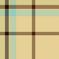 Cream Tartan Fabric Seamless Pattern