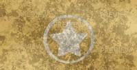 Grunge American Star Background
