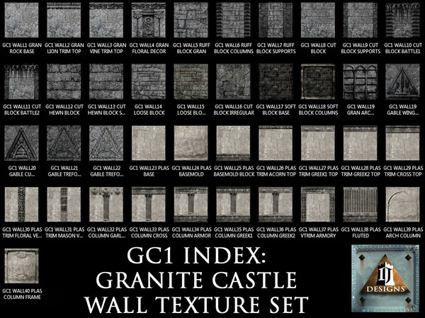 GC1 WALL TEXTURE SET INDEX .jpg