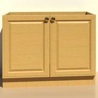 Kitchen.C_Base.Cabinet.III
