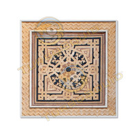Square arabesque ornament