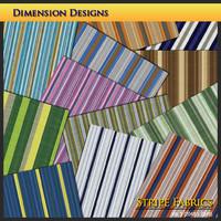 Stripe Fabrics Set 1