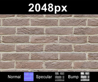 Brick Wall 01 - Set