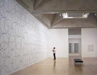 circular wall painting for interiors