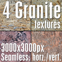 4 High Res Seamless Granite Textures Vol.01 part4