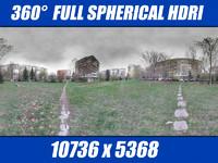 HDRI Public garden 1