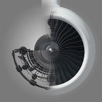 Jet Engine Cutaway High Res Image