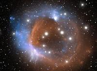 Space nebula 0801