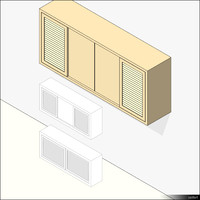 Kitchen Unit Wall Mount 01331se
