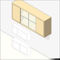 Kitchen Unit Wall Mount 01345se