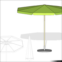 Beach Umbrella Octagon 01350se
