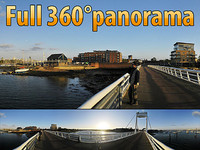 Gosport bridge - 360° panorama