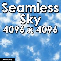 Sky 004 - Seamless Texture