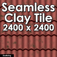 Roof 001 - Clay Tile