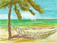 the sea / hammock