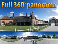Haras du Pin - 360 panorama