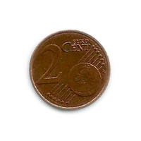 2 Euro Cent texture