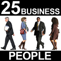 25 Business People Textures - Vol. 3