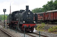 Steam locomotive BR38