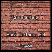 Tiled Bick Wall (Game ready)