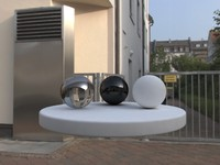 Hires 21 HDRIs panoramas