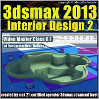 3dsmax 2013 Interior Design v.6.1 Italiano cd front