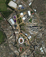 2012 London Olympic Complex SATELLITE IMAGERY