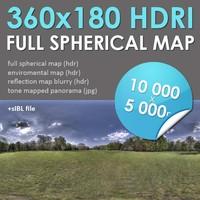 HDRI Map Lawn [P38]