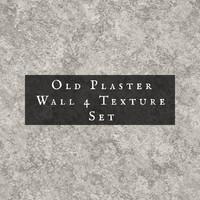Old Plaster Texture Set