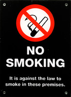 No Smoking Sign 01