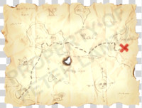 Humorous Treasure Map