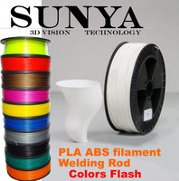 PLA filament 3mm 800g/spool black