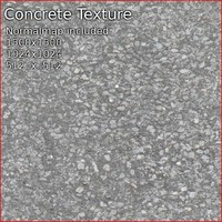 Concrete tiled