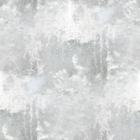 tileable seamless ornamental frozen floral ornaments
