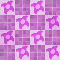 Girls Flower Tile