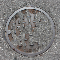 Manhole Cover Paved