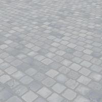 Blue stone paving