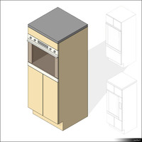 Kitchen Sideboard Oven 01348se