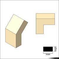 Duct Angle 01368se