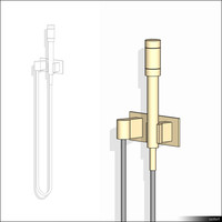 Hand Shower Wall Mount 01402se