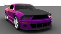 car paint and carbonfiber