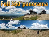 Snezka - 360° panorama