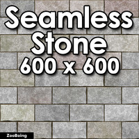Brick 023 - Stone, CMU, Paver
