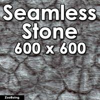 Stone 018 - Cracked