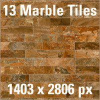 Marble Rouge set